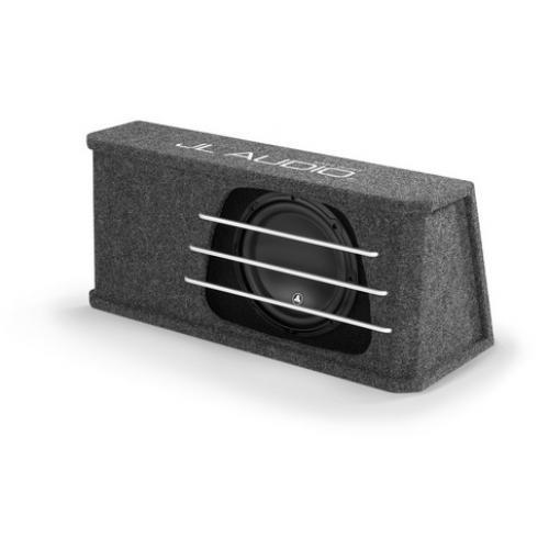 "JL AUDIO Single 10"" H.O. Wedge Ported Sub Enclosure (93135) - Extreme Electronics"