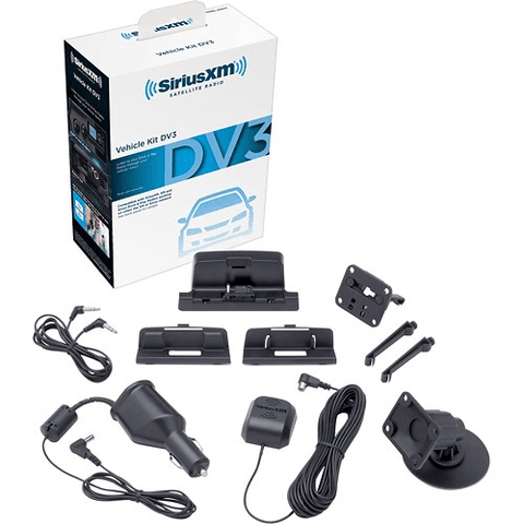 Sirius/XM  Interoperable Vehicle Kit for Most SiriusXM, Sirius and XM Models (SXDV3KC) - Extreme Electronics