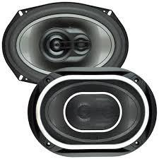 "JL AUDIO 6""x 9""  3-Way Coaxial Speakers, Pair (9619) - Extreme Electronics"
