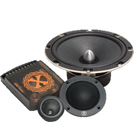"POWER BASS 2XL 6.5"" 120 Watt RMS 3-Way Speakers, Pair (2XL603C) OPEN BOX - Extreme Electronics"