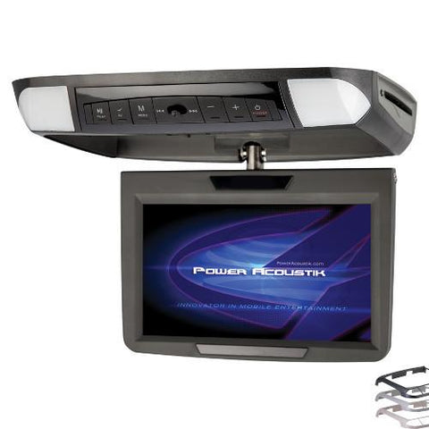 "Power Acoustik CEILING MOUNT 10.2"" TFT-LCD MONITOR & DVD PLAYER - Extreme Electronics"