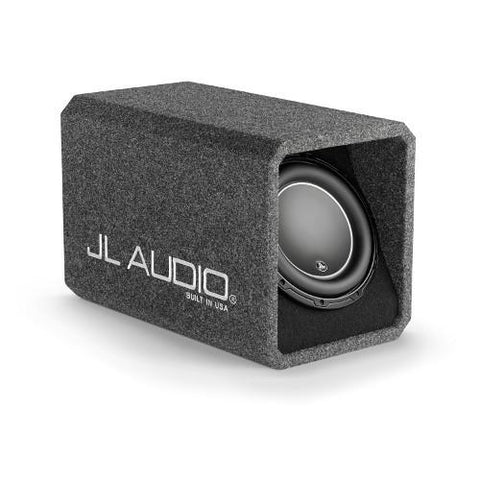 "JL AUDIO Single 10"" 2 Ohm Ported H.O. Wedge Sub Enclosure (93310) - Extreme Electronics"
