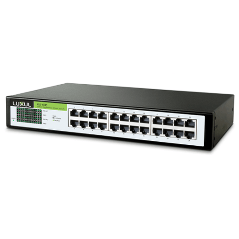 Luxul Xen™ 24-Port Gigabit Flex Mount Switch - Extreme Electronics