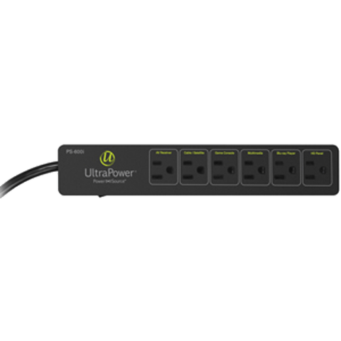 ULTRALINK Power 6 Outlet Surge Protector (PS600I) - Extreme Electronics