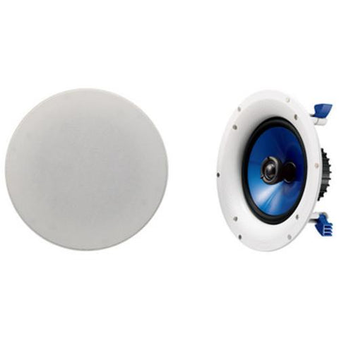 YAMAHA 4 Inch, 90 watt, In Wall/Ceiling Speakers, pair (NSIC400) - Extreme Electronics