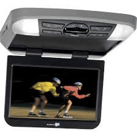 "AUDIOVOX 10.1"" LED Overhead DVD Player WITH HEADPHONES (AVXMTG10UHDKIT) - Extreme Electronics"