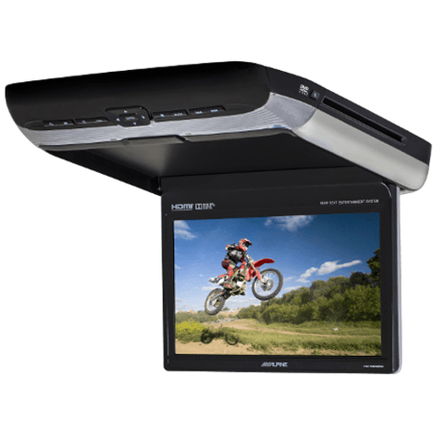 "ALPINE 10.2"" Rear Seat Overhead Entertainment System with HDMI Out (PKGRSE3HDMI) - Extreme Electronics"
