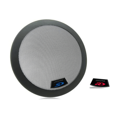 "ALPINE Grille for 12"" Type-R and Type-S subwoofers, each (KTE12G2) - Extreme Electronics"