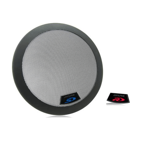 "ALPINE Grille for 10"" Type-R and Type-S subwoofers, each (KTE10G2) - Extreme Electronics"