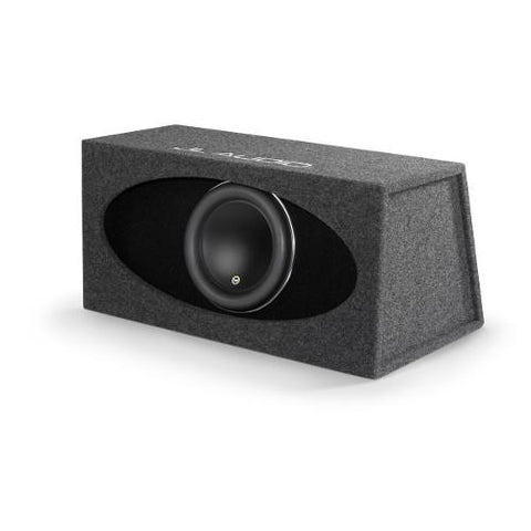 "JL AUDIO Single 12"" 3 Ohm Ported H.O. Wedge Loaded Sub Enclosure (93276) - Extreme Electronics"