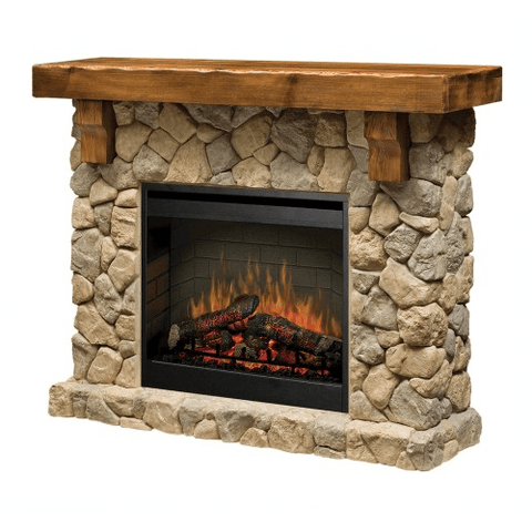 DIMPLEX  Fieldstone Mantle Fireplace - Extreme Electronics