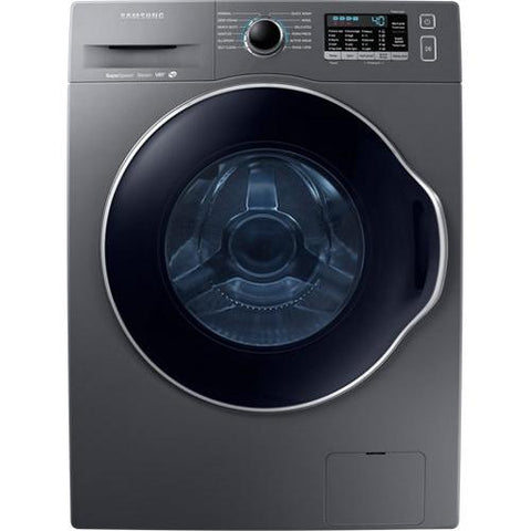 Samsung 2.6 cu. ft. Frontloading Stacking Washer - Inox Grey (WW22K6800AX/A2) - Extreme Electronics