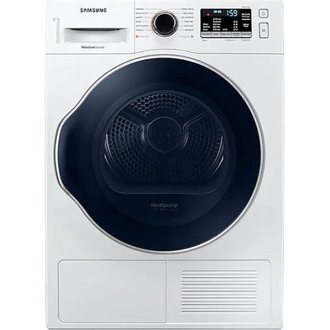 SAMSUNG 4 Cu. Ft. Free Standing Electric Heat Pump Dryer with Optimized Drying, White (DV22N6800HW/AC) - Extreme Electronics