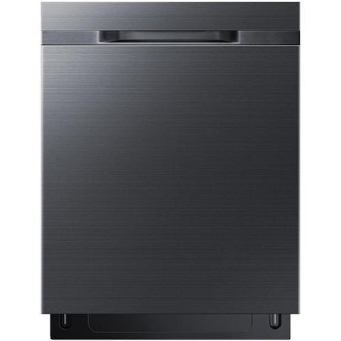 "Samsung 24"" Built-In Rotary Dishwasher with StormWash - Black Stainless (DW80K5050UG/AC) - Extreme Electronics"