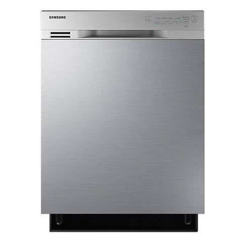 "Samsung 24"" Built-In Rotary Dishwasher - Stainless Steel (DW80J3020US/AC) - Extreme Electronics"