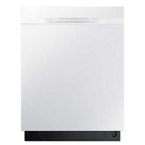 "SAMSUNG 24"" Built-In Rotary Dishwasher with StormWash, White (DW80K5050UW/AC) - Extreme Electronics"