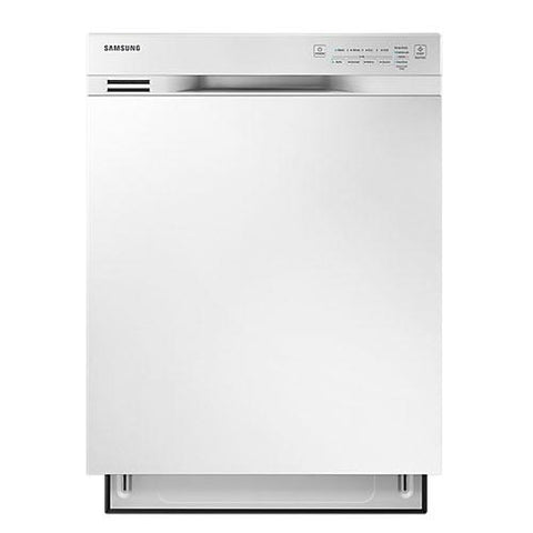 "Samsung 24"" Built-In Rotary Dishwasher - White (DW80J3020UW/AC) - Extreme Electronics"