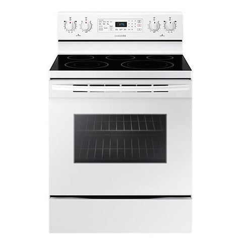 Samsung Electric Range 5.9 cu. ft. with Fan Convection Oven - White (NE59M4320SW/AC) - Extreme Electronics