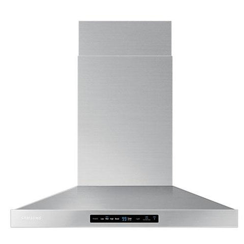 "Samsung 30"" Hood with Baffle Filter and Bluetooth Connectivity - Stainless Steel (NK30K7000WS/AA) - Extreme Electronics"