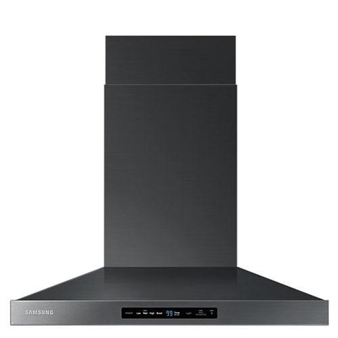 "Samsung 30"" Hood with Baffle Filter and Bluetooth Connectivity - Black Stainless Steel (NK30K7000WG/AA) - Extreme Electronics"