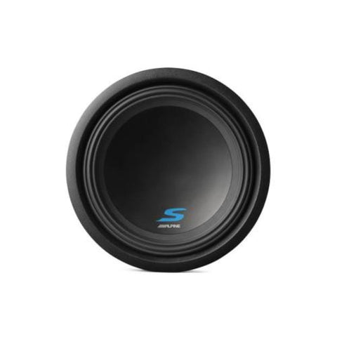 "Alpine S-Series 10"" 600 Watts RMS 4 Ohms Subwoofer with Dual Voice Coils (SW10D2) - Extreme Electronics"