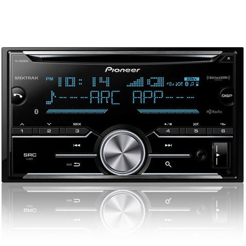 Pioneer AM/FM/USB/CD Receiver with Bluetooth and MIXTRAX (FHX830BHS)