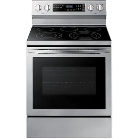 SAMSUNG 5.9 Cu. Ft. Free-Standing Electric Range, Stainless Steel (NE59R6631SS/AC) - Extreme Electronics