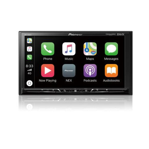 "PIONEER 7"" Digital Multimedia Video Receiver with Built-In Bluetooth and Apple CarPlay (DMH1500NEX) - Extreme Electronics"