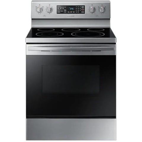 SAMSUNG 5.9 Cu. Ft. Electric Range with Fan Convection, Stainless Steel (NE59R4321SS/AC) - Extreme Electronics