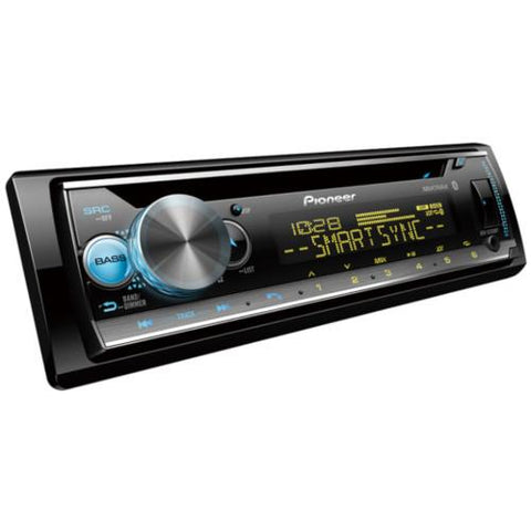 Pioneer Single Din Bluetooth CD Receiver with MIXTRAX, Smart Sync and Color Customization (DEHS5200BT) - Extreme Electronics