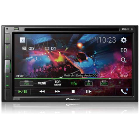 "Pioneer 6.8"" Multimedia DVD Receiver with Bluetooth (AVH521EX)"