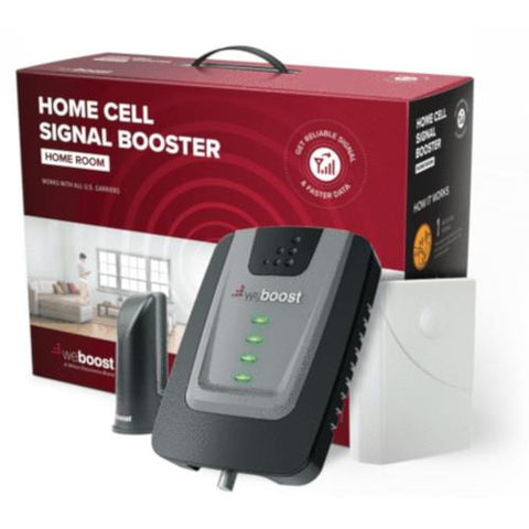 WeBoost Home Room Cell Booster Kit up to 1,500 Sq. ft for 4G/5G LTE and 3G GSM (652120)