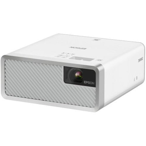 EPSON EF-100 Mini-Laser Streaming Projector with Android TV, White (EF100W) - Extreme Electronics