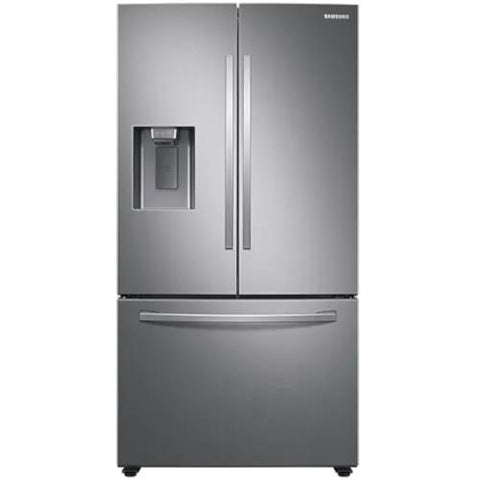 "Samsung 36"" 27.0 cu. ft. French Door Refrigerator with SpaceMax Technology - Stainless Steel (RF27T5201SR/AA) - Extreme Electronics"
