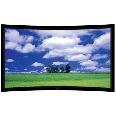 "Grandview Screens 120"" Prestige Series Permanent Curve Fixed Frame Screen (Matt White) - Extreme Electronics"