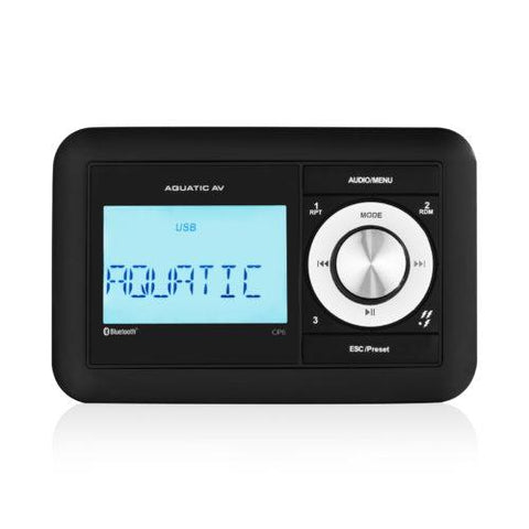 AQUATIC AV Compact Bluetooth & USB Waterproof Marine Stereo (CP6) - Extreme Electronics