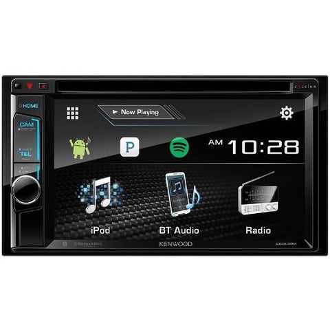 "Kenwood 6.2"" DVD Receiver with Bluetooth, USB, MAESTRO, and 3 X 5V PRE OUT (DDX395) - Extreme Electronics"