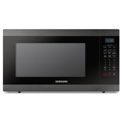 SAMSUNG 1.9 Cu .Ft Counter Top Microwave, Stainless Black (MS19M8020TG) - Extreme Electronics