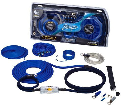 Stinger Elite 4GA 6000 Series Comeplete Amplifier Wiring Kit (SK6641) - Extreme Electronics