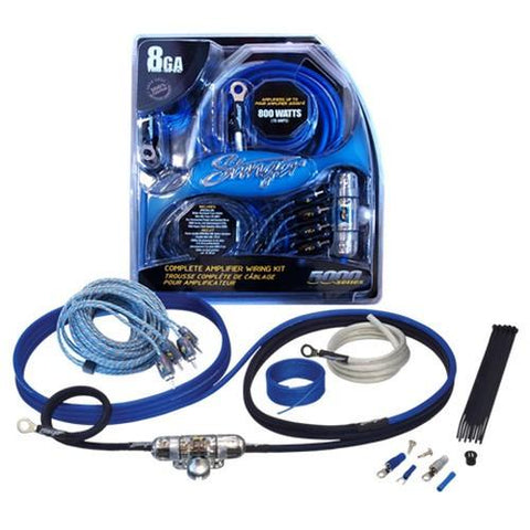 STINGER Elite 8 Ga 5000 Series Amplifier Wiring Kit (SK6681C) - Extreme Electronics