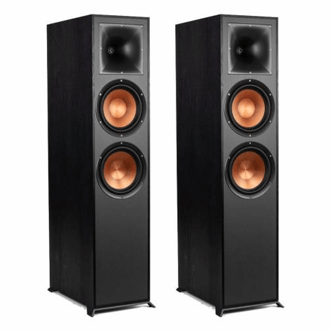 "KLIPSCH REFERENCE Series Dual 8"" Tower speakers, PAIR (R820FB)"