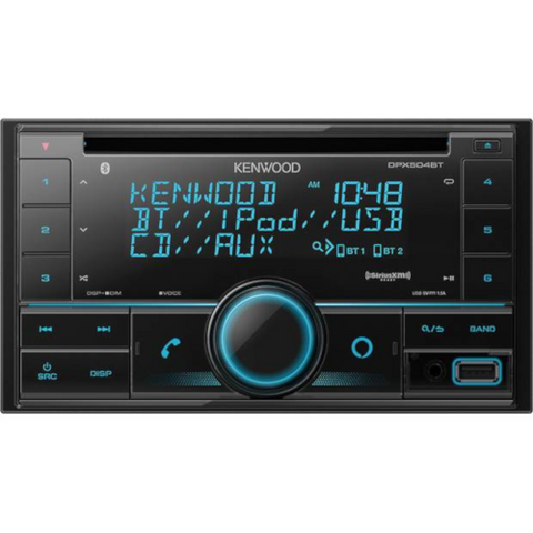 KENWOOD CD Receiver With Bluetooth (DPX504BT) - Extreme Electronics