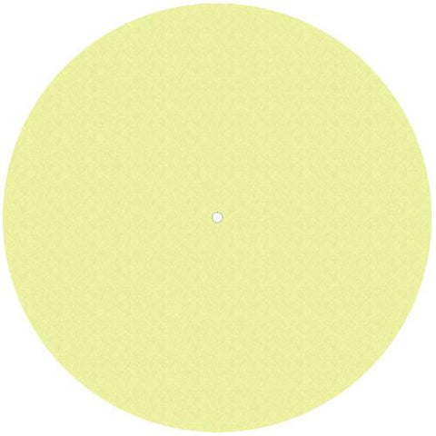 Pro-Ject Felt Mat for Debut, Yellow (PJ50437944) - Extreme Electronics