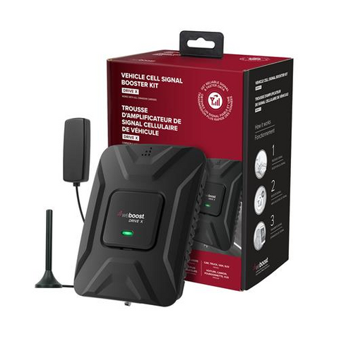 WEBOOST Drive X In Car Cell Booster for 4G LTE/5G and 3G (655021) - Extreme Electronics