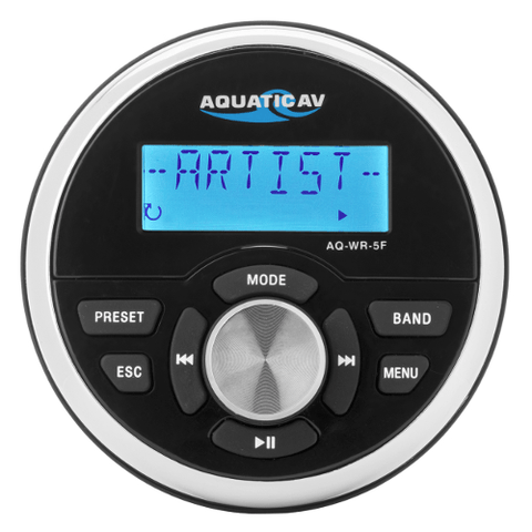 Aquatic AV Wired Marine Remote Control (AQWR5F) - Extreme Electronics