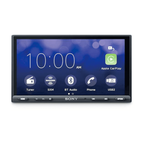 "Sony 6.95"" LCD Multimedia Receiver with Bluetooth and Apple Car Play or Android Auto Support (XAVAX5000) - Extreme Electronics"
