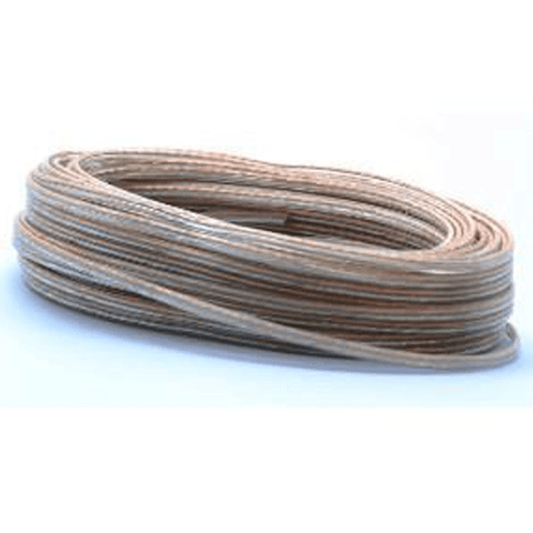ULTRALINK 24 Awg Speaker Cable Clear, 50ft (UHS50) - Extreme Electronics