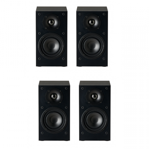 Paradigm Monitor SE 4.0 channel Speaker Bundle, Black - Extreme Electronics