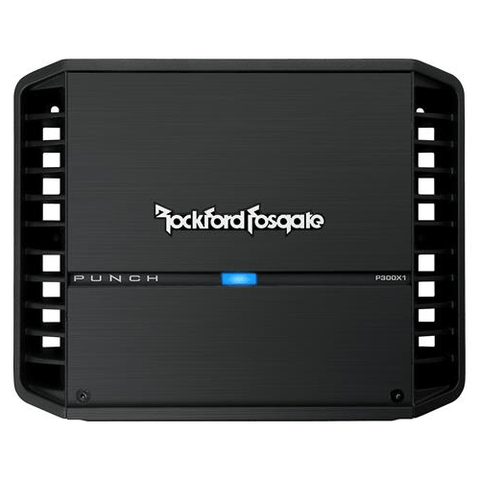 Rockford Fosgate Punch Mono amplifier — 300 watts RMS x 1 at 2 ohms (P300X1)
