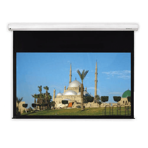 "Grandview Screens 120"" Intergrated Motorized Cyber Series Screen - Extreme Electronics"